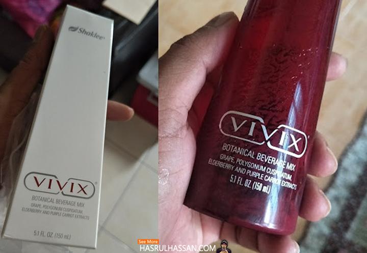 Vivix Shaklee Bagus Untuk Kesihatan