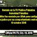 """Televisión pública palestina: """"Hitler fue enviado por Allah para castigar a los judíos"""""""