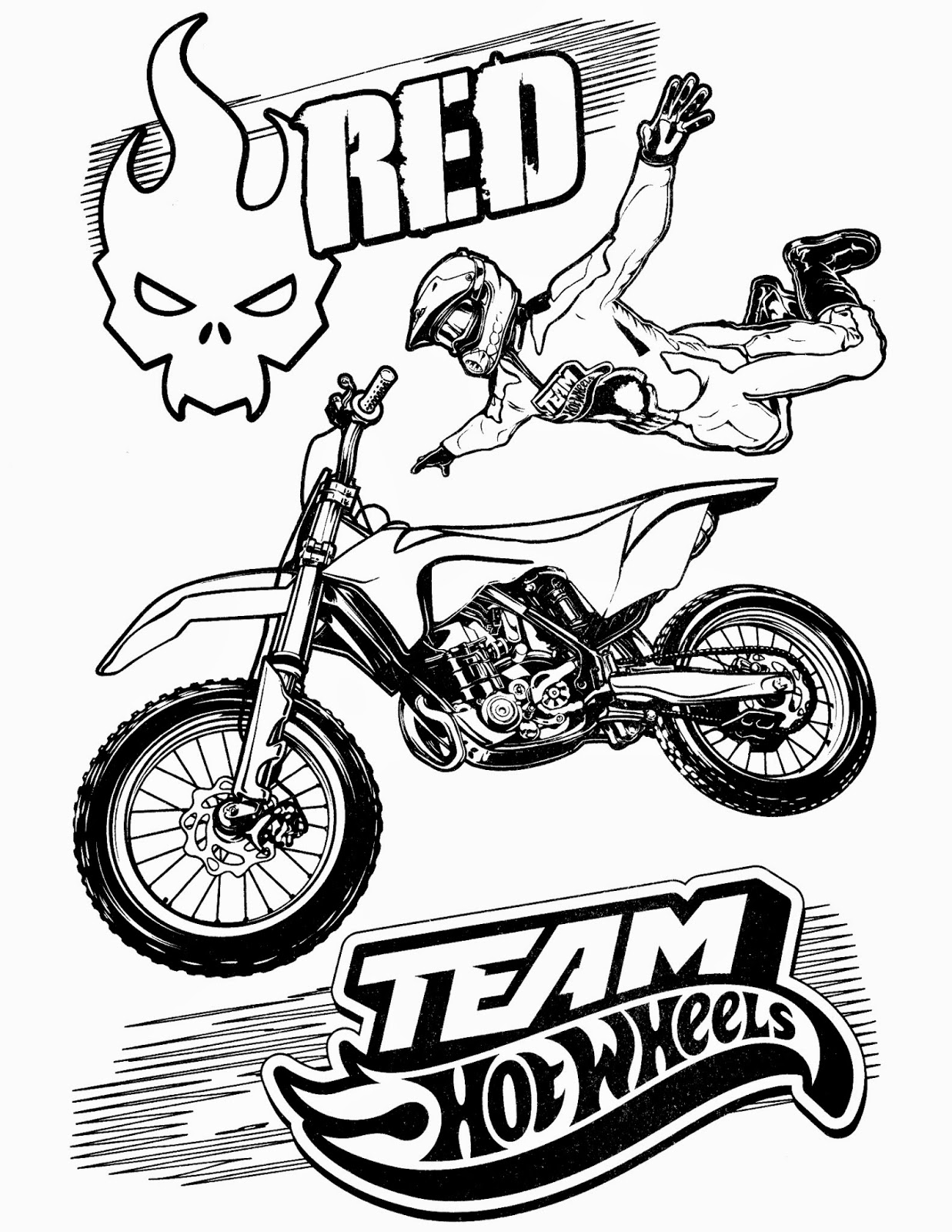 Hot Wheels Coloring Pages 65