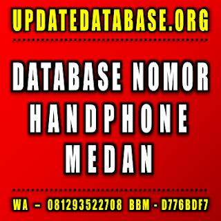 Jual Database Nomor Handphone Medan
