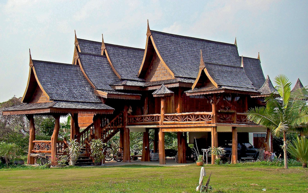 House thailand for Thai classic house 2