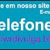 Fones úteis- lista telefônica
