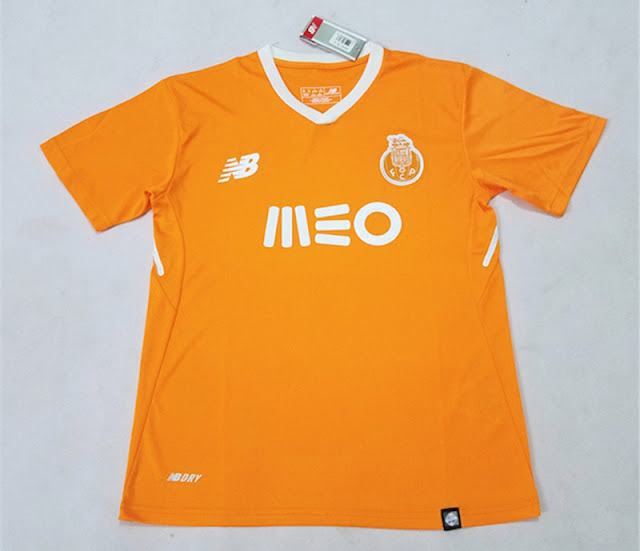 New Balance Porto Away Kit Jersey 2017-18