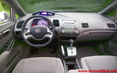 Interior Honda Civic 2008