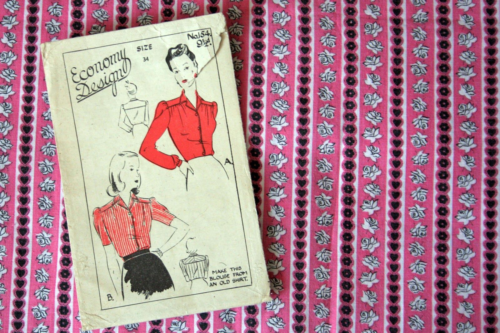 Fall For Cotton A Sewing Challenge LIghtfields Blouse pattern