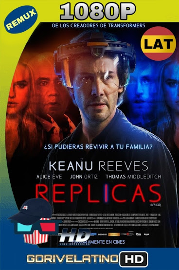 Replicas (2018) BDRemux 1080p Latino-Ingles MKV
