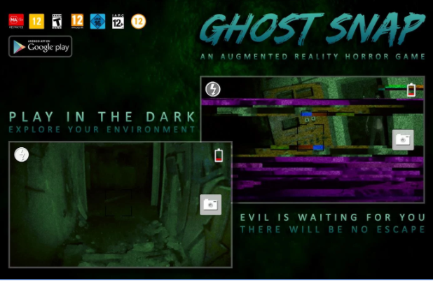 Ghost Snap AR App