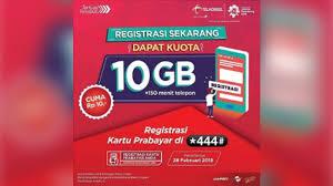cara registrasi kartu telkomsel lewat server transaksi
