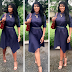 Stephanie Linus looks stunning as she steps out for an interview