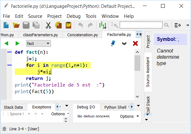 My Python Courses: The Wing IDE editor for Python
