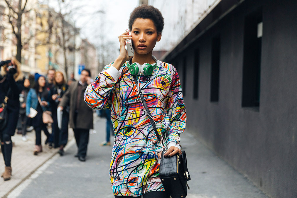 Street Style: Lineisy Montero's Artistic Look