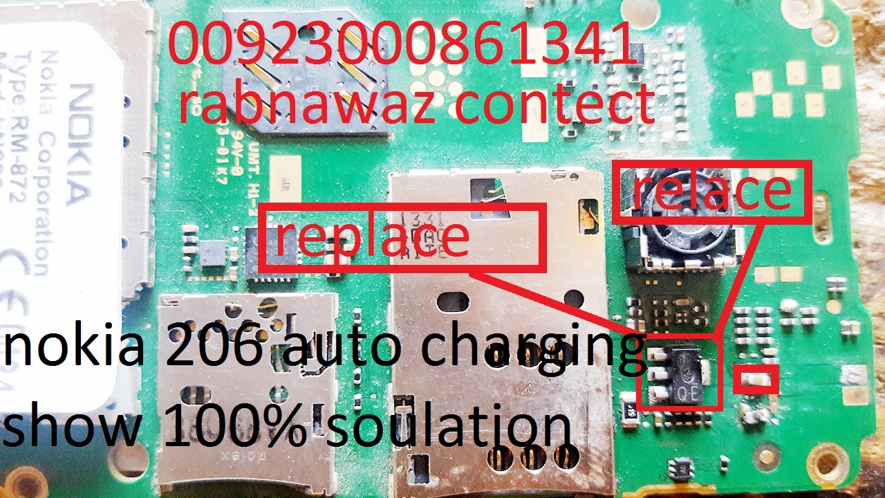 nokia 206 auto charging solution - The Softwares Pk