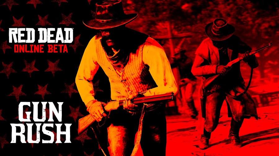 red dead online battle royale mode gun rush