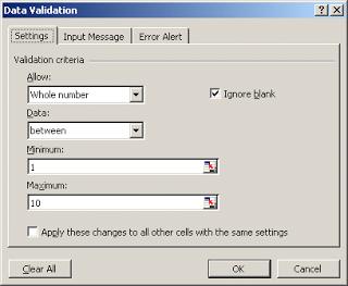 cara membuat validasi data excel