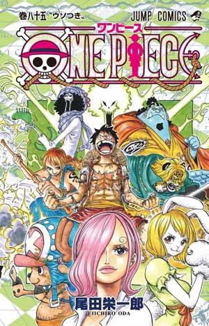 Ver Descargar One Piece Manga Tomo 85