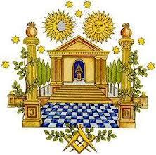 Sun and Moon Equal Divine Balanced Opposites Masonryy