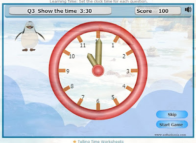 http://www.softschools.com/time/learning_time_clock_for_kids/