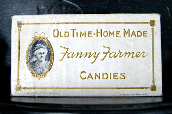 vintage candy box