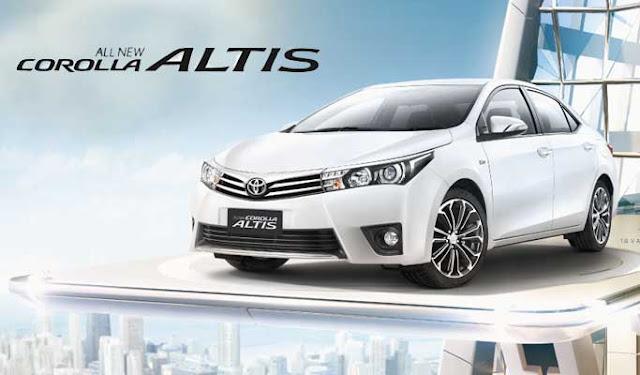 Spesifikasi Harga Kredit & Cicilan Toyota Corolla Altis Surabaya