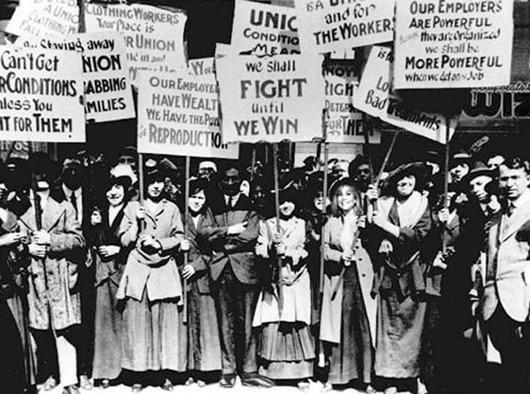 """8 березня 1857 року в Нью-Йорку відбувся так званий """"Марш порожніх каструль"""""""