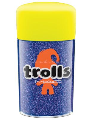 MAC Good Trolls reflects glitter reflects purple duo
