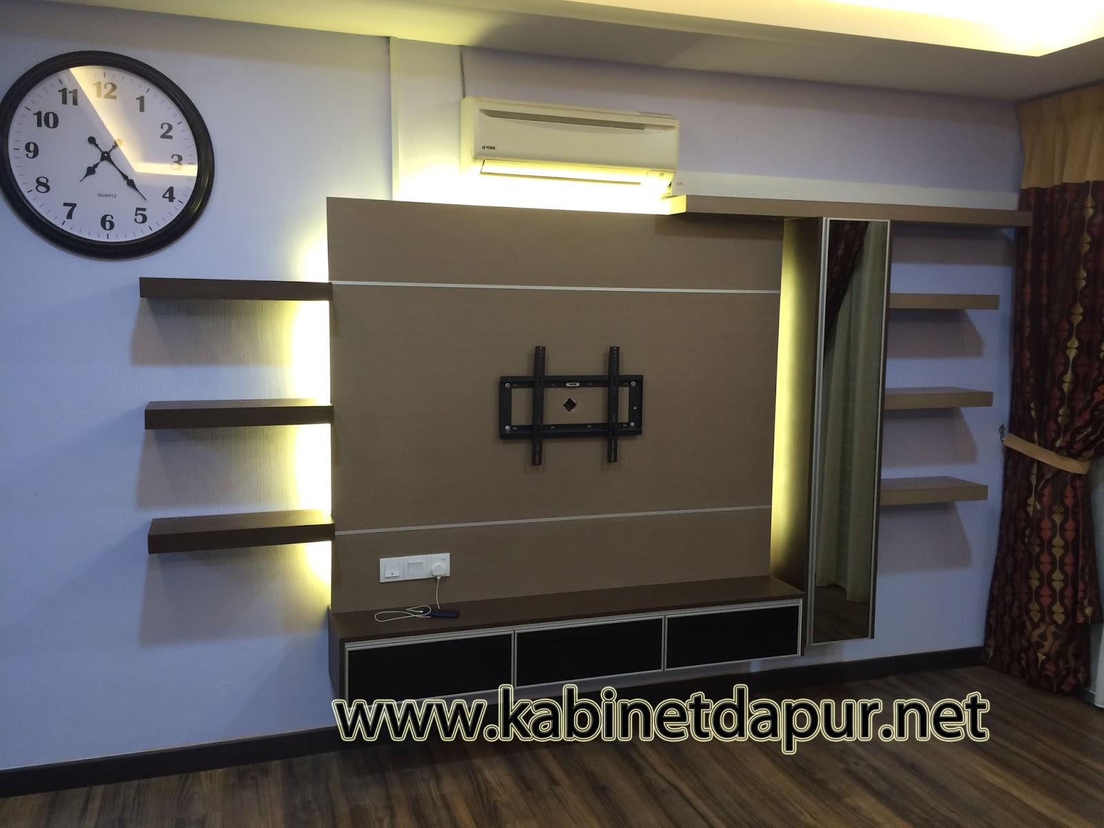 projek kabinet tv di taman puyu alor setar tel 0124934710