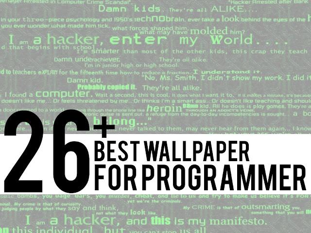 Wallpaper biasanya memang tak begitu kita pentingkan 27+ Wallpaper terbaik untuk Programmer