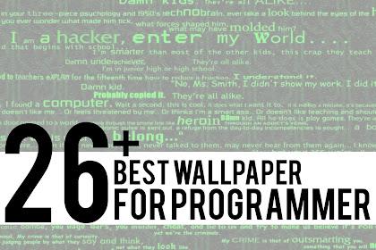 27+ Wallpaper Terbaik Untuk Programmer