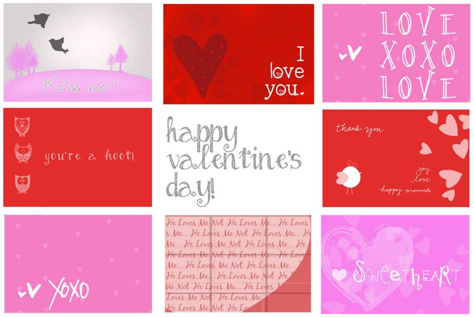 Printable Valentines Day Cards 2018 Free Printable Valentine Cards