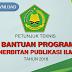 Petunjuk Teknis Bantuan Program Penerbitan Publikasi Ilmiah Tahun 2018