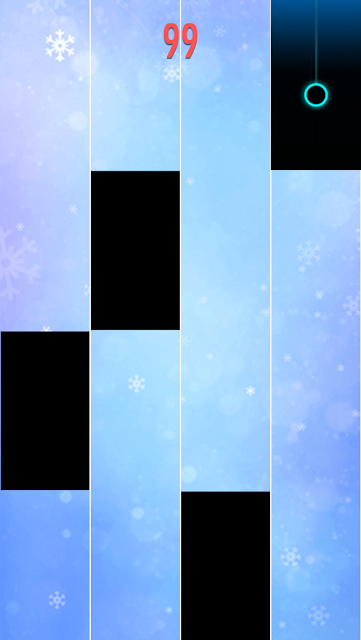 This is one of my favorite games that I never miss to play. It's a beautifully designed game that you can enjoy music while playing the game. The rules are simple: just tap the black tiles to the music and avoid other areas.