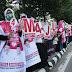 Para Srikandi Gelar Aksi Dukung Mustafa-Ahmad Jajuli