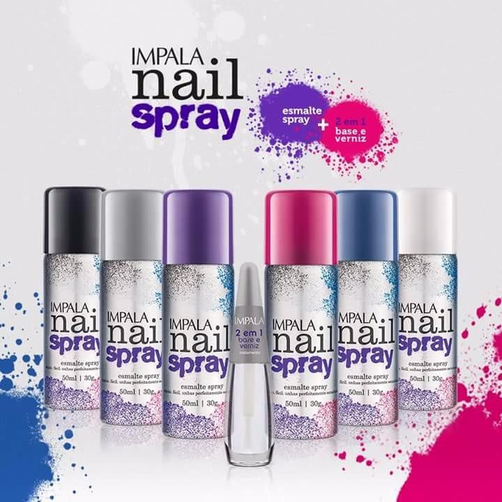 Esmalte em Spray Impala
