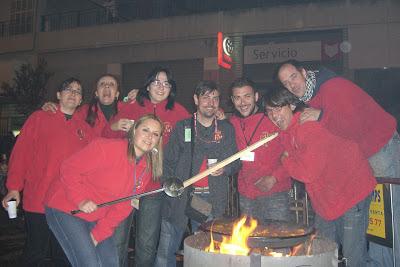 Concurso de paellas, fallas, Valencia