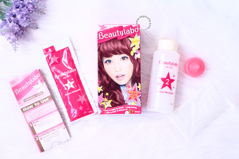 Beautylabo Hair Color Raspberry Pink