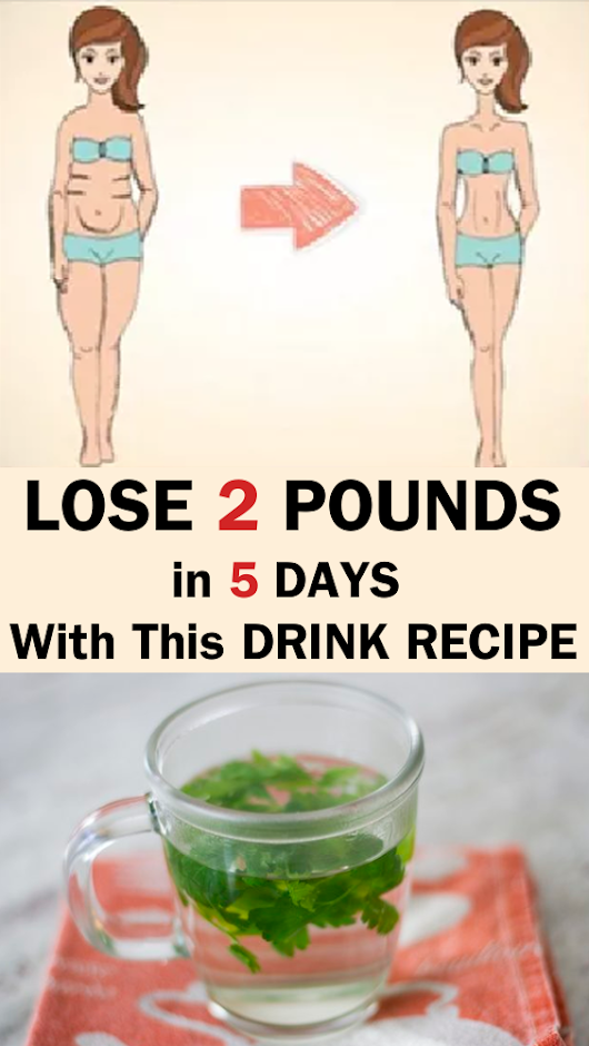 Lose 2 Pounds of Fat in 5 Days with This Drink Recipe