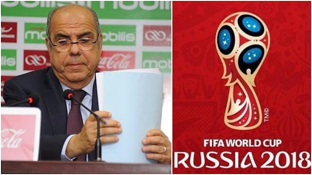 روراوة يطيح ب4 لاعبين من المنتخب الجزائري