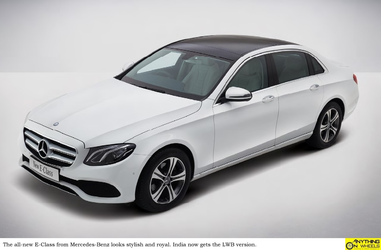 Anything on wheels mercedes benz launches the new e class for Mercedes benz 70