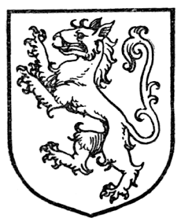 Tyger, or heraldic tiger. Image taken from A Complete Guide to Heraldry, 1909. [Public domain], via Wikimedia Commons