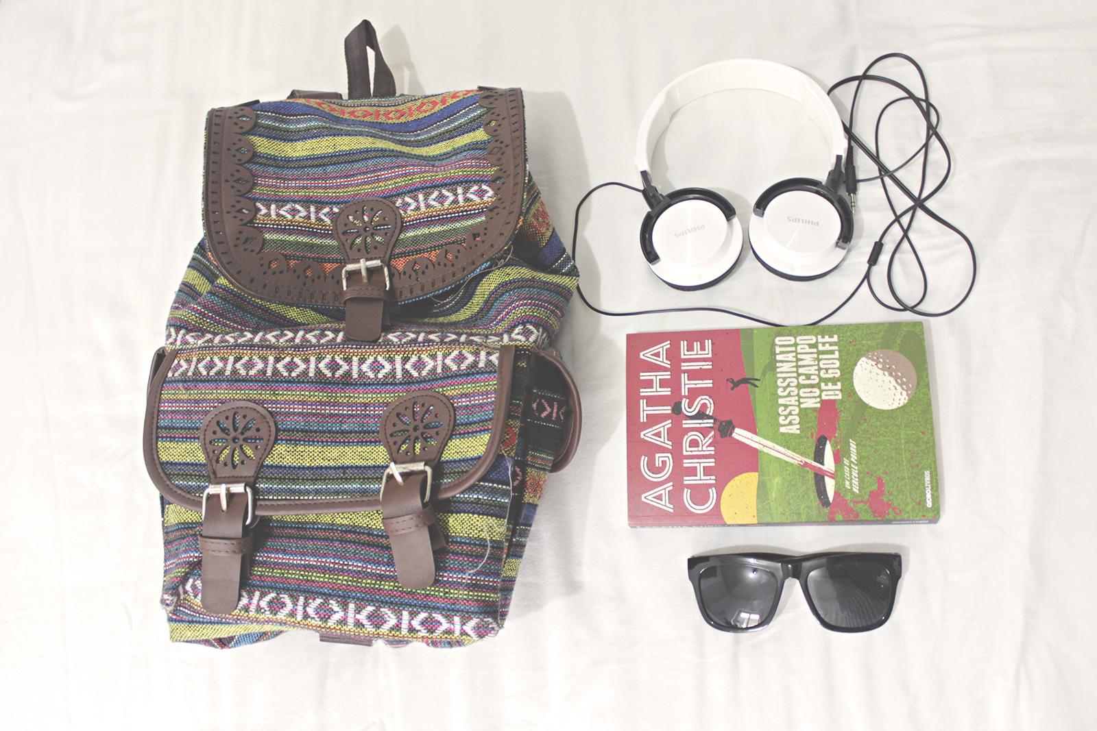 mochila viagem o que levar