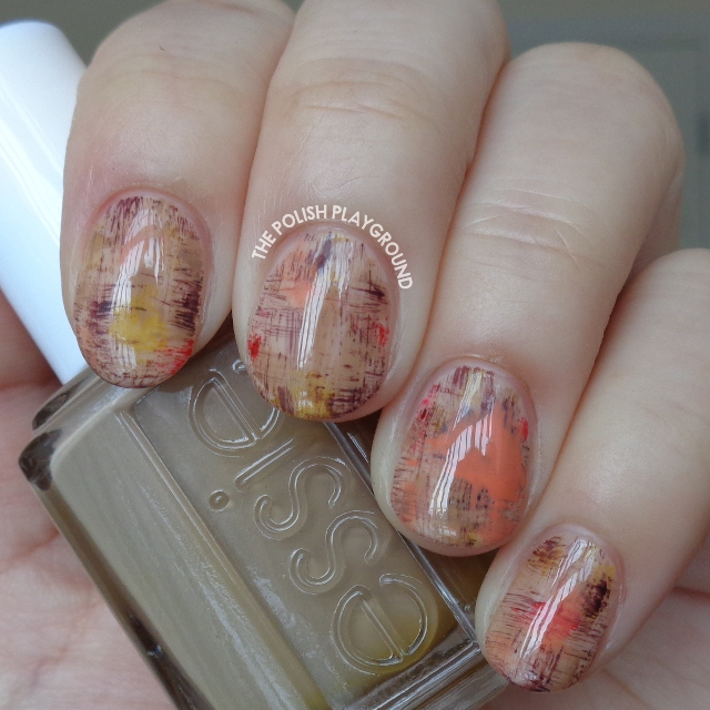 Art Inspired Dry Brush Nail Art