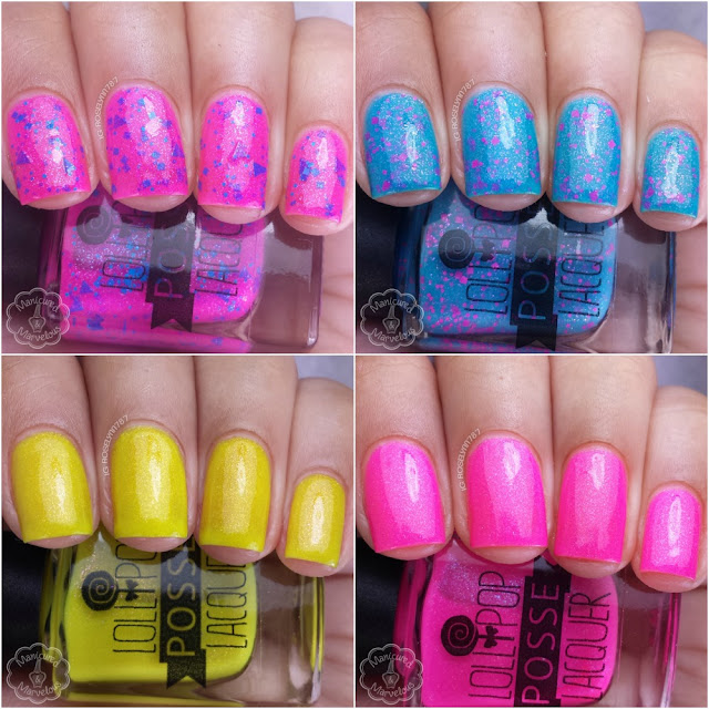 Lollipop Posse Lacquer - Dancing Girl Collection