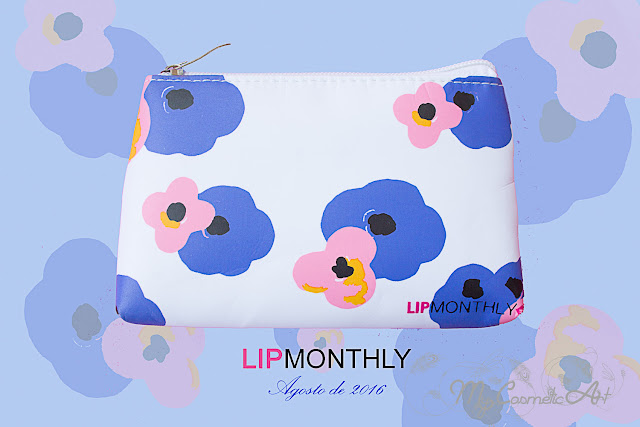 Lip Monthly de Agosto de 2016