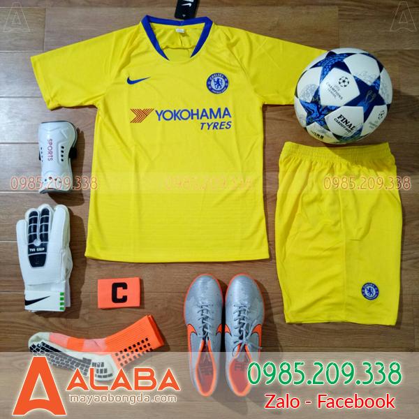 Áo CLB Chelsea 2019 Màu Vàng