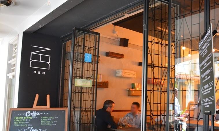 DEN: European style bistro nestled in quiet Boon Tat Street