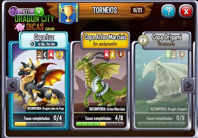 Ganhe o Dragão Lobo de Fogo!