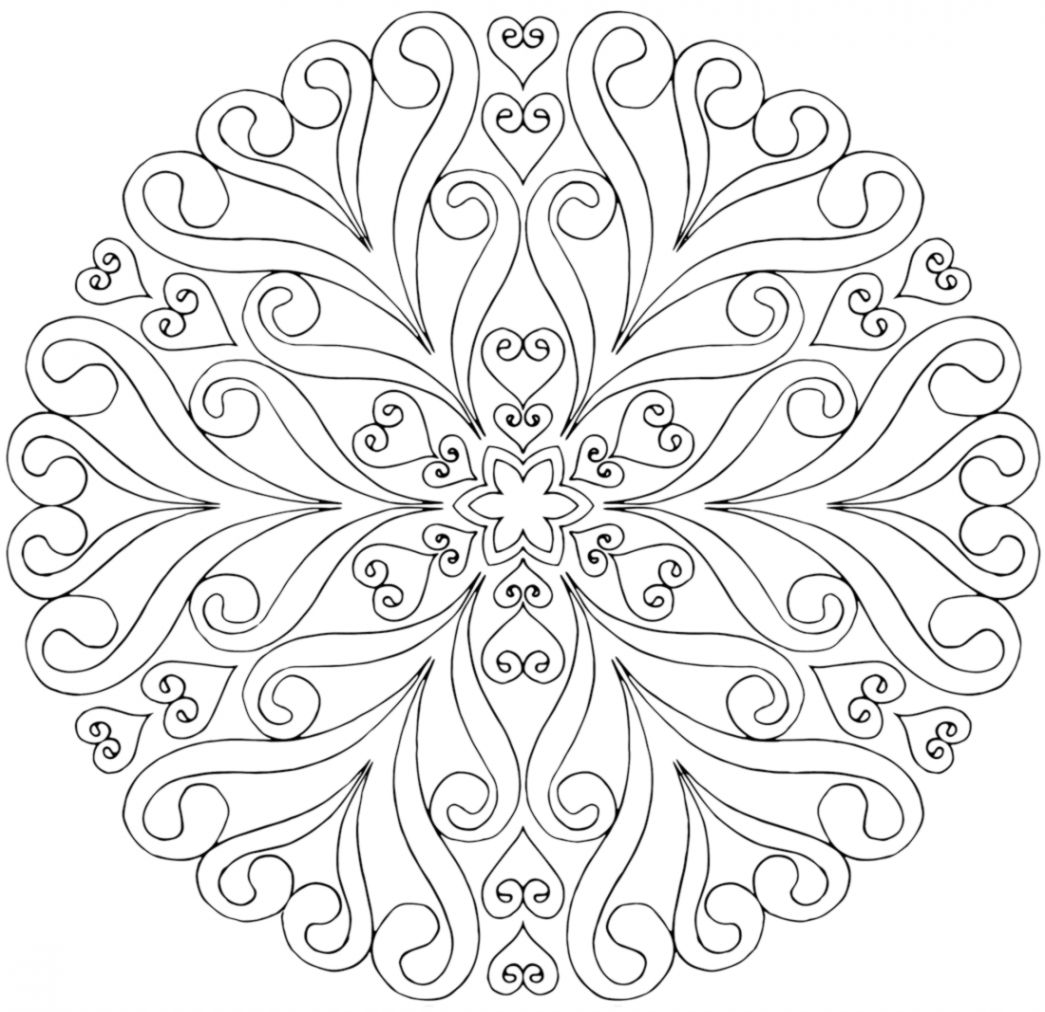 Free Detailed Coloring Pictures Mandalas Wallpapers App