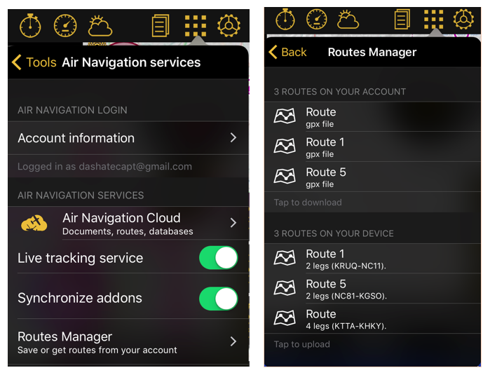 9 features of air navigation pro ios you should know air rh blog airnavigation aero Aircraft Navigation System Aircraft Navigation Systems History