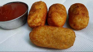 aloo rolls potato snacks recipe in telugu
