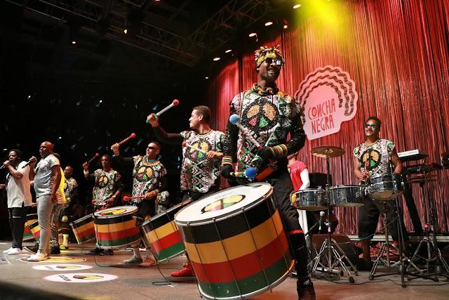 Olodum abre a semana de Carnaval da TV Brasil nesta segunda